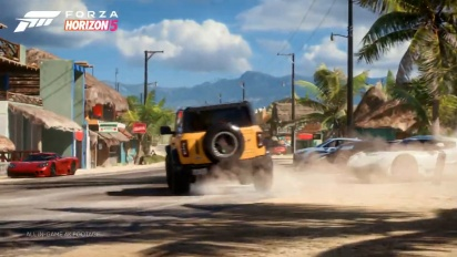 Forza Horizon 5 - julkistustraileri
