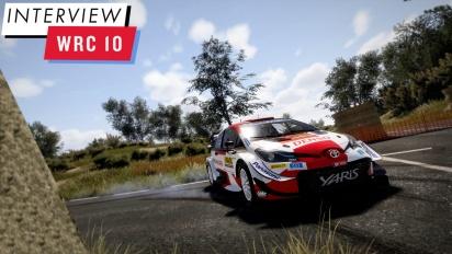 WRC 10 - Alain Jarniou haastattelussa