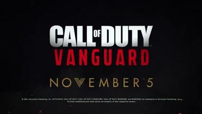 Call of Duty: Vanguard - julkaisutraileri