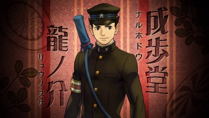 The Great Ace Attorney - Japanese announcement trailer