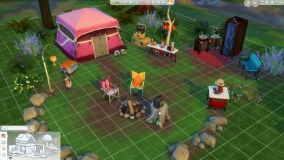 The Sims 4 - Outdoor Retreat DLC Trailer