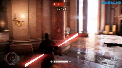 Star Wars Battlefront II - Team Battle Solo Darth Maul -pelikuvaa - Wipe Them Out