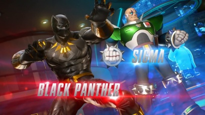 Marvel vs. Capcom: Infinite - Black Panther ja Sigma -pelikuvatraileri