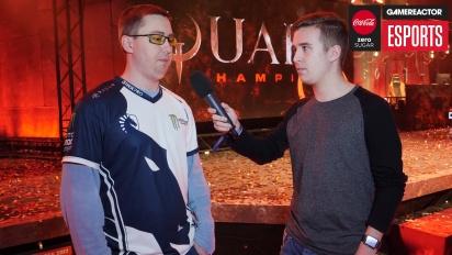 DreamHack Winter - Quake Champions: Toxjq haastattelussa