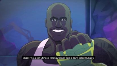 Shaq-Fu: A Legend Reborn - julkaisupäivän traileri