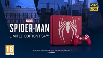 Spider-Man - Limited Edition PS4 Bundle -traileri