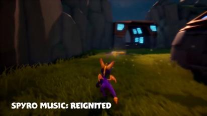 Spyro Reignited Trilogy - Uuden ja vanhan musiikin valinta