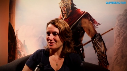 Assassin's Creed Odyssey - Lydia Andrew haastattelussa