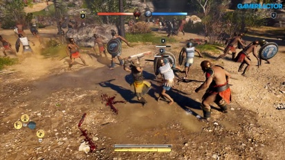 Assassin's Creed Odyssey - Megaris Conquest Battle -pelikuvaa