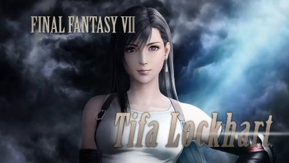Dissidia Final Fantasy NT - Tifa Lockhart announcement trailer