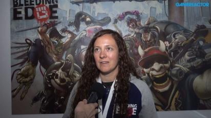 E3-haastattelussa Bleeding Edge