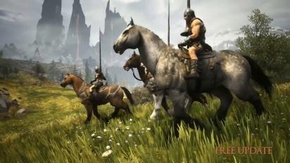 Conan Exiles - Mounts and Riders of Hyboria -traileri