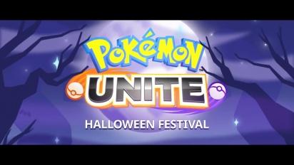 Pokémon Unite - Halloween Festival Traileri