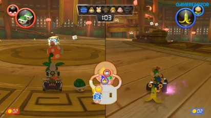 Mario Kart 8 Deluxe - Piranha Plants vs. Spies 1080p60 -pelikuvaa
