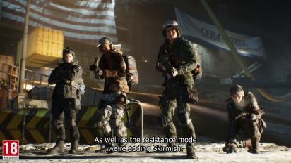 The Division - Resistance 1.8 - julkaisutraileri
