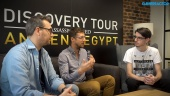 Discovery Tour by Assassin's Creed: Ancient Egypt - Maxime Durand ja Jean Guesdon haastattelussa