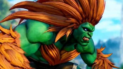 Street Fighter V: Arcade Edition - Blankan pelikuvatraileri