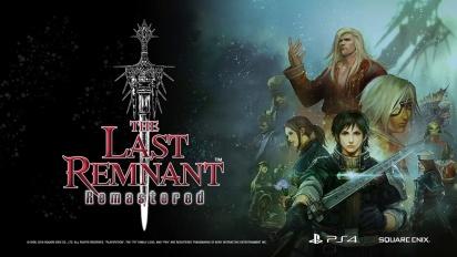 The Last Remnant Remastered - julkistuspätkä