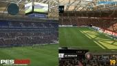 FIFA 19 vs PES 2019 - 4K, grafiikkavertailu