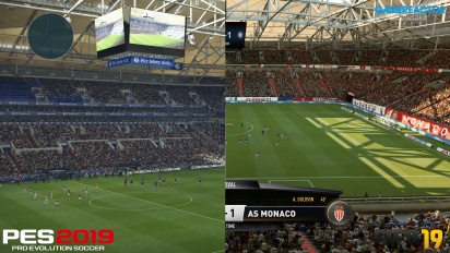 FIFA 19 vs PES 2019 - 4K, grafiikkavertailu