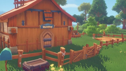 My Time At Portia - Crafting-traileri