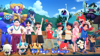Yo-kai Watch 4 Opening Movie - Switch
