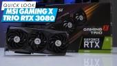 Nopea katsaus - MSI GeForce RTX 3080 Gaming X Trio