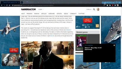 GRTV News - Hitman 3 DLC might be a reimagined previous Hitman 1 and 2 locations