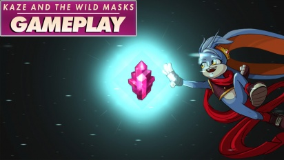 Kaze and the Wild Masks - Gameplay
