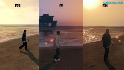 Miltä GTA V:n PC-versio näyttää PS4:n ja PS3:n versioihin verrattuna?