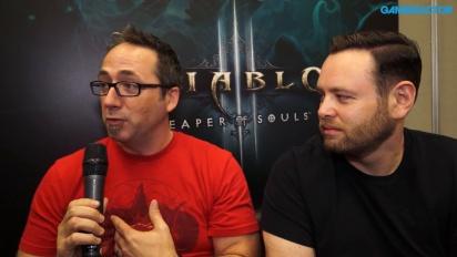 Diablo III: Blizzcon 2016 - Kevin Martens & John Muller haastattelussa