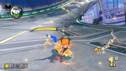 Mario Kart 8 Deluxe - Girl Inkling 150cc 1080p60 -pelikuvaa