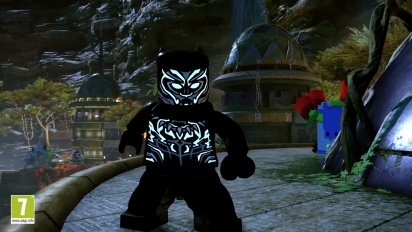 Lego Marvel Super Heroes 2 - Black Panther DLC -traileri
