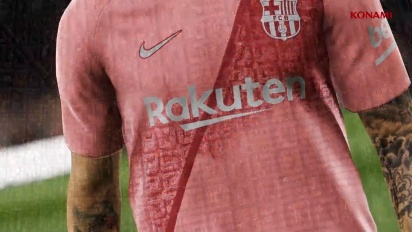 PES 2019 - FC Barcelona Third Kit -paljastus
