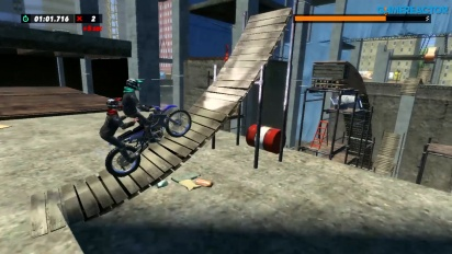 Trials Rising - Switch-pelikuvaa
