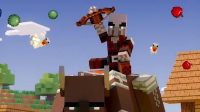 Minecraft - Village & Pillage: virallinen traileri