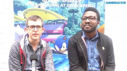 Team Sonic Racing - Derek Littlewood ja Ben Wilson haastattelussa