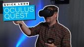 Tarkastelussa Oculus Quest