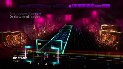 Rocksmith 2014 - Disturbed DLC Trailer