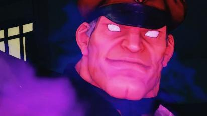 Street Fighter V - A Shadow Falls -lisälatauksen tarinatraileri