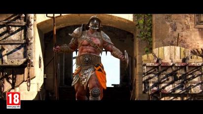 For Honor - Gladiator-traileri
