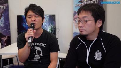 Monster Hunter: World - Ryozo Tsujimoto & Kaname Fujioka haastattelussa