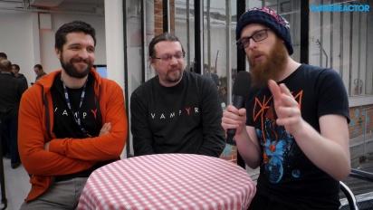 Vampyr - Gregory Szucs & Stéphane Beauverger haastattelussa