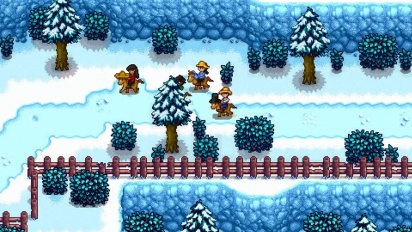 Stardew Valley Multiplayer Update - Trailer