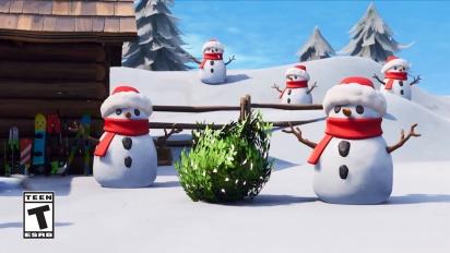 Fortnite - Sneaky Snowman -pätkä