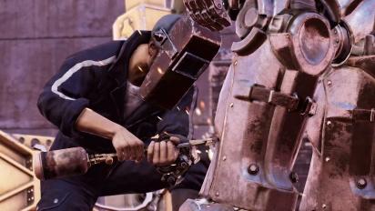 Fallout 76 - Steel Dawn -paljastustraileri ''Rahmani, Shin, and Valdez''
