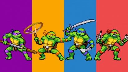 Teenage Mutant Ninja Turtles: Shredder's Revenge - Gameplay traileri