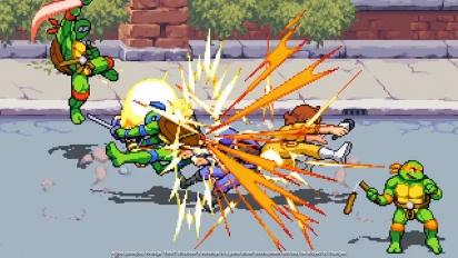 Teenage Mutant Ninja Turtles: Shredder's Revenge - Gamescom 2021 -traileri