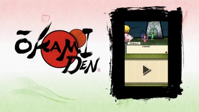 Okamiden - Shakuya Gameplay